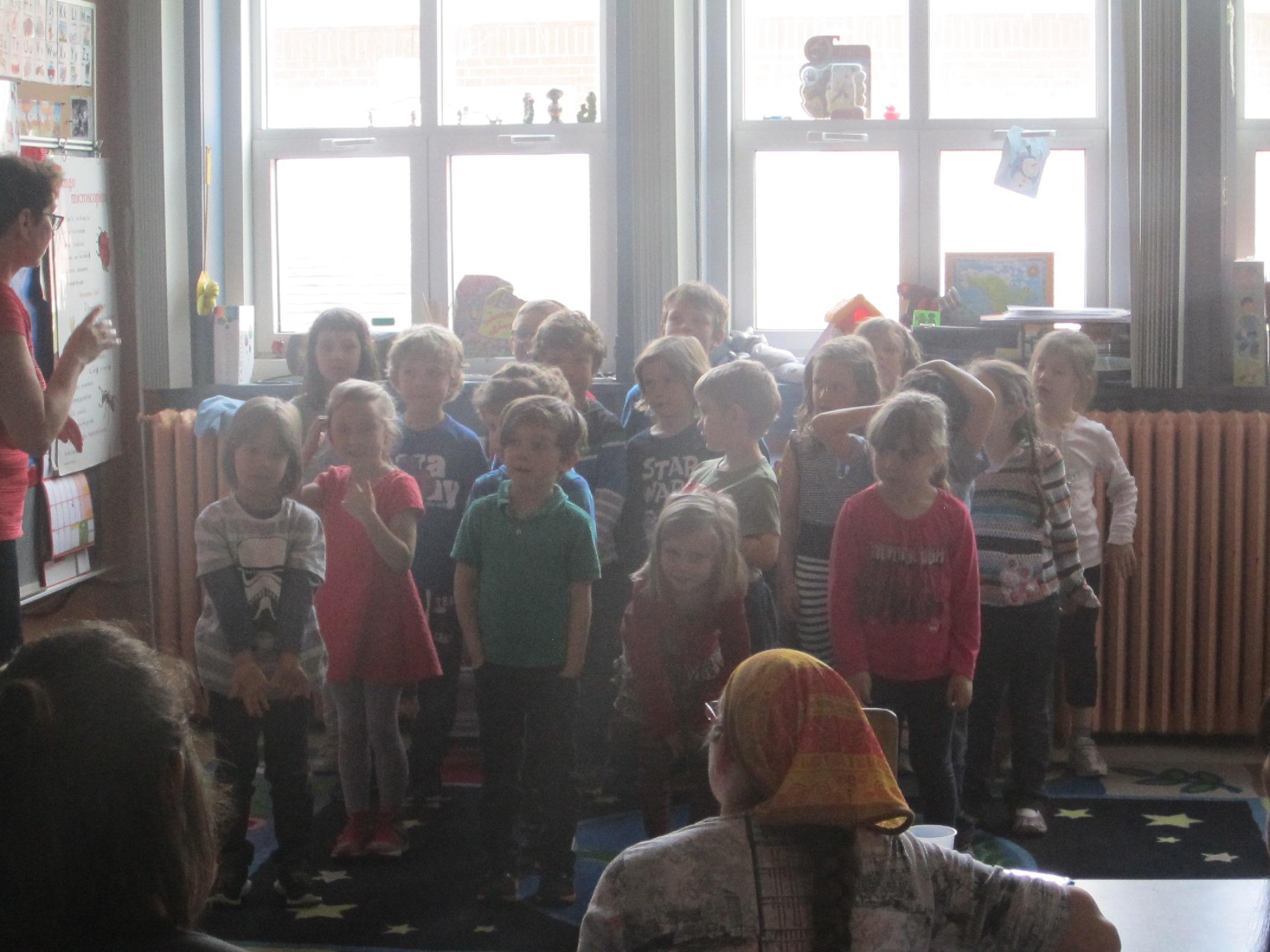 La fête des Mères dans la classe de maternelle