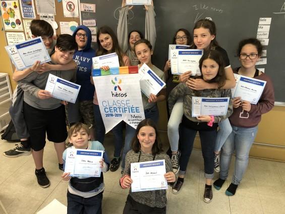 Concours Tous héros et responsables pour notre planète 2018-2019