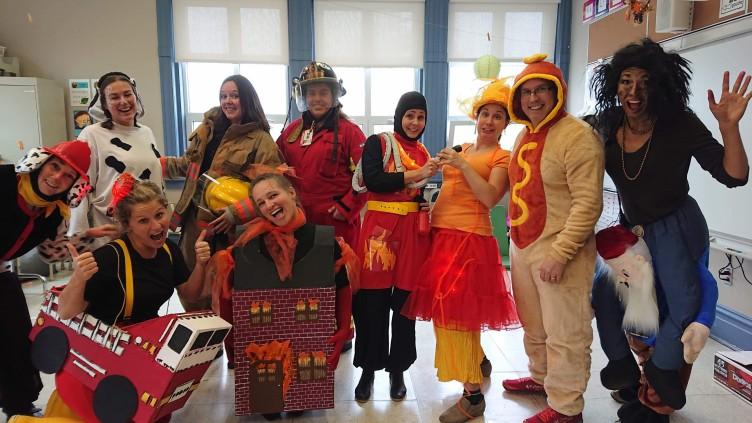 L'Halloween à SFA